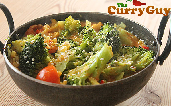 Vegetarian curry recipes broccoli curry by the curry guy broccoli curry make a delicious main course or side dish this is my favourite vegetarian forumfinder Image collections