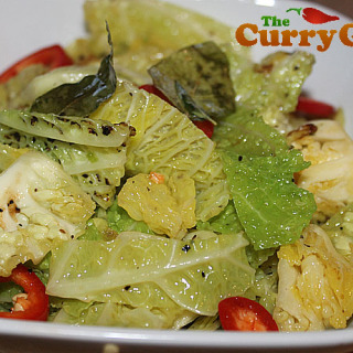 Try This Delicious Stir-fried Cabbage and Coconut from Kerala