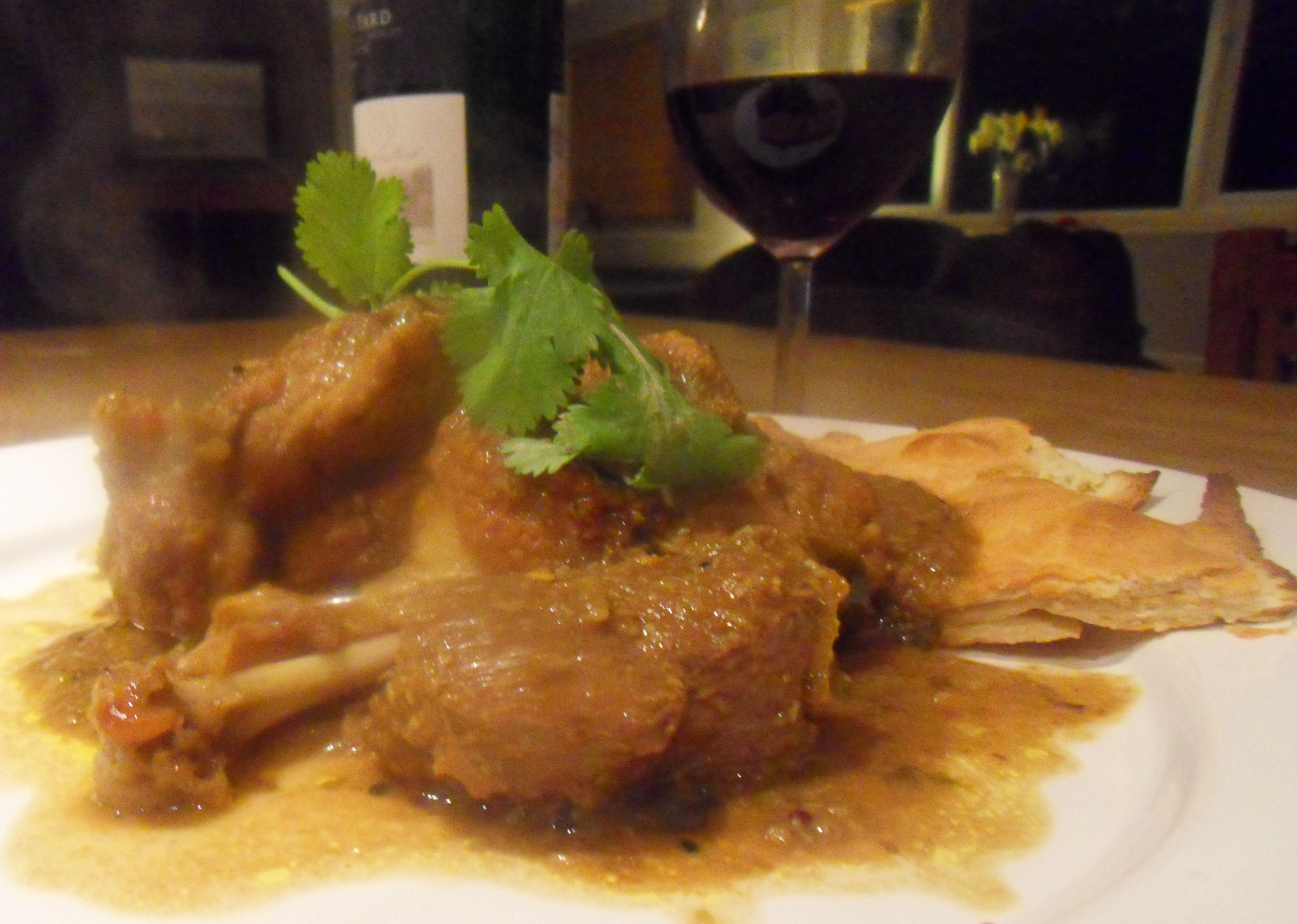 Indian Duck Curry
