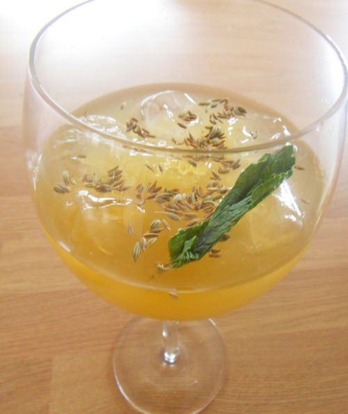 Cumin and Fennel Cooler – A Traditional Indian Drink That is Perfect for the Hot Summer Months