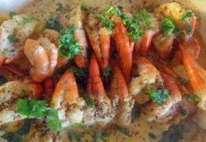Indian Prawn Recipe