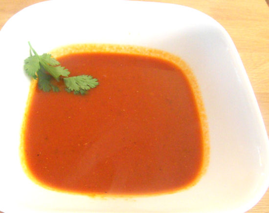 How to make Tomata Shorba – A Popular Indian Style Tomato Soup