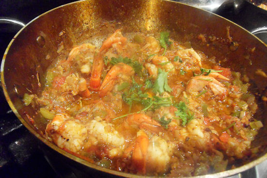How to Make Balti Prawns