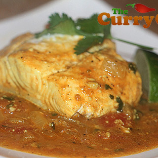 Punjabi Halibut Curry