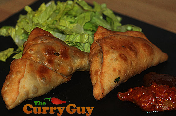 Meat Samosa Recipe | Lamb British Indian Restaurant Recipe ...