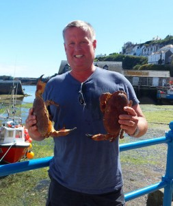 Cornwall caught crabs