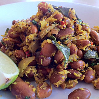 Pinto Bean Thoran – A Vegetarian Curry Recipe That Tastes Great and Can Be Made in a Hurry
