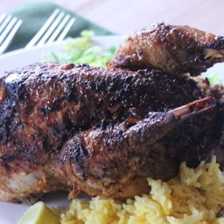 Real Indian Food – Roast Tandoori Pheasant With A Pilau Rice Stuffing
