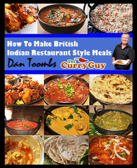 Curry book including chicken tikka masala