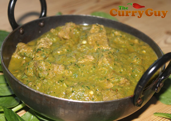 Lamb Saag Recipe | British Curry House Style Recipes | The Curry Guy
