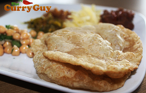 homemade puri recipe