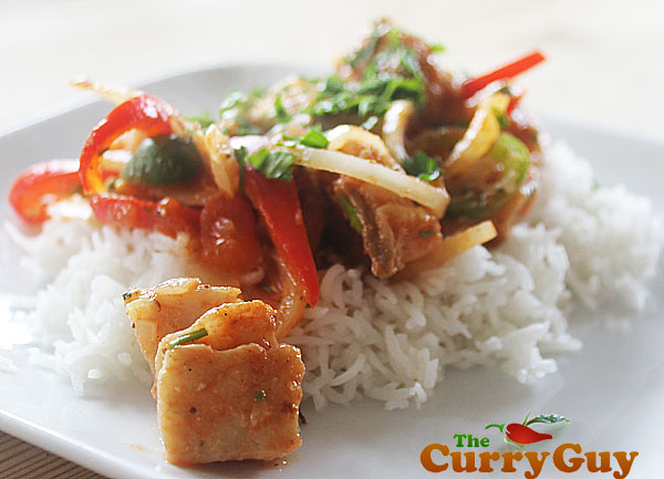 White fish Curry