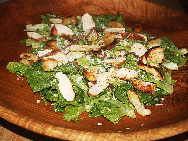 Ceasar salad with an Indian touch