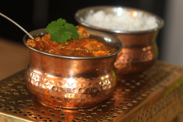 In about 25 minutes, you'll have this amazing curry!