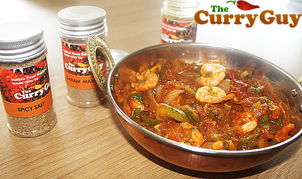 Prawn Balti by the Curry Guy