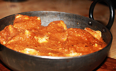 Smoky chicken vindaloo