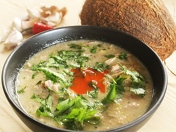 Indian food recipes - Turkey soup