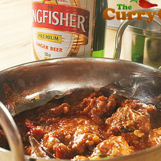 Oxtail Curry With Kingfisher Beer