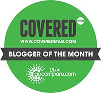 Go Compare Blogger of the Month Banner