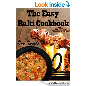 Balti Ebook by #1 UK Food Blogger Dan Toombs