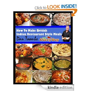 British Indian restaurant style meals