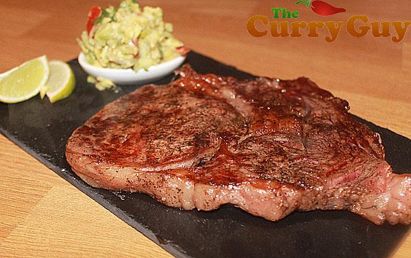Wagyu ribeye steak