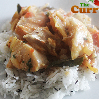 A Low Fat Fish Curry With Coconut and Chili