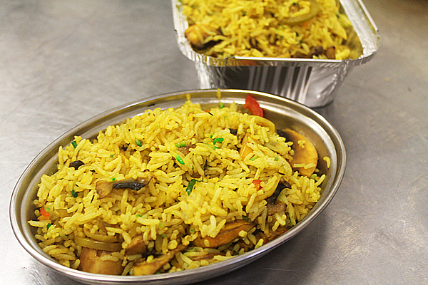 BIR - British Indian restaurant style mushroom rice