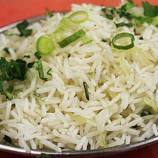British Indian Restaurant (BIR) Style Onion Fried Rice