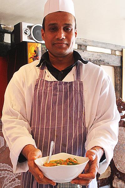 British Indian restaurant food at its best.