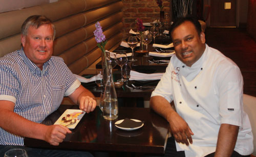 Sabbir and The Curry Guy at Namaaste Kitchen