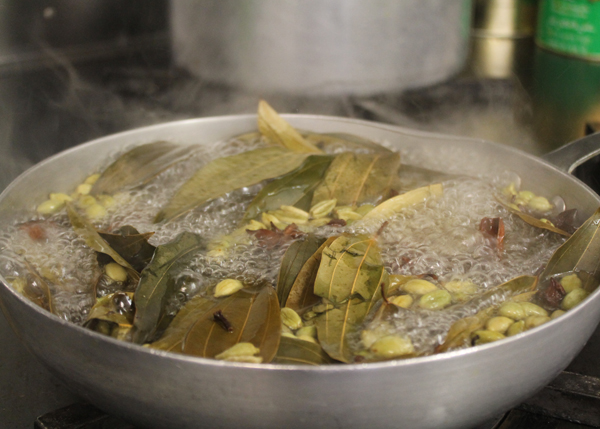 Herb and spice stock