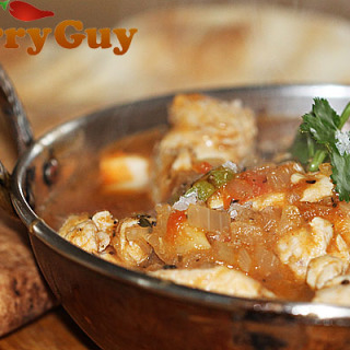 Shabab's Quick And Easy Chicken Balti For One