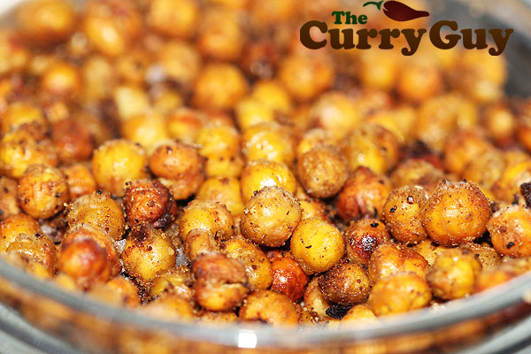 Spice roasted chickpeas