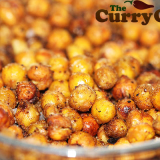 Roasted Chickpeas In Spices & Olive Oil