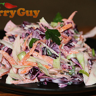 Indian Inspired coleslaw