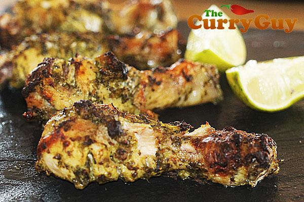 Coriander Amp Garlic Tandoori Chicken Legs