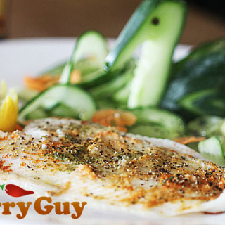 Indian inspired lemon sole recipe