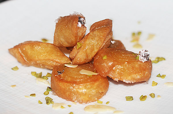 One last treat from Chef Palash Mitra!