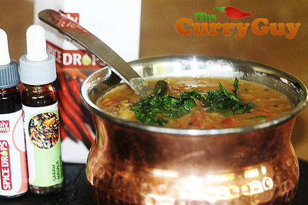 Masoor dhal made with Holy Lama Spice Drops