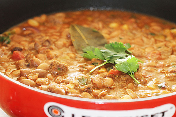 Beef and Pinto Bean Balti