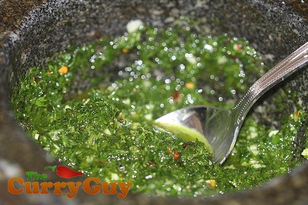 coriander sauce