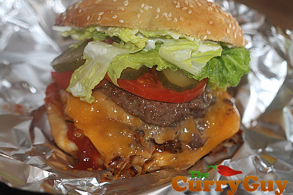 CopyCat Five Guys Burger.