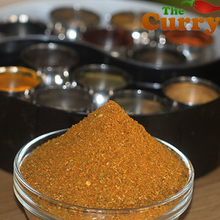 Homemade Hot Madras Curry Powder
