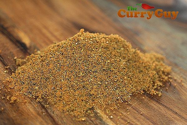 Cardamom and mace powder.