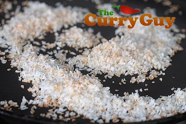 Making Jaffna crab curry