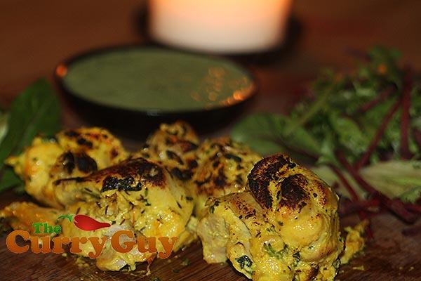 Palash Mitra's tandoori chicken