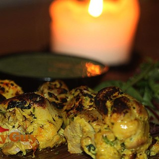 Palash Mitra's tandoori chicken