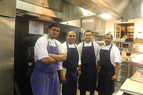 Chef Mitra Palash and Team