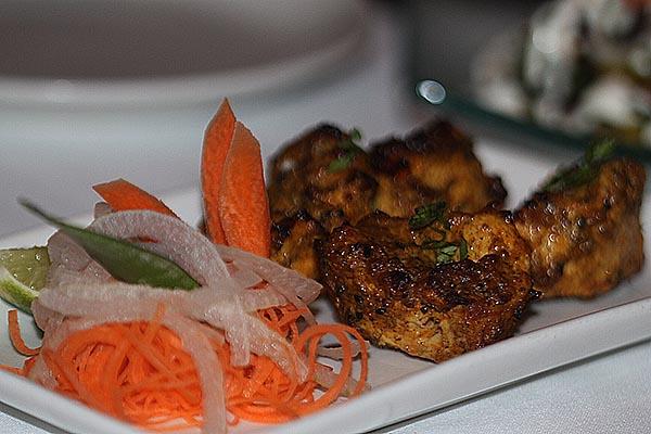 Thali's chicken tikka